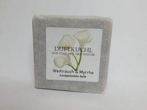 Handgemachte Weihrauch & Myrrhe Seife