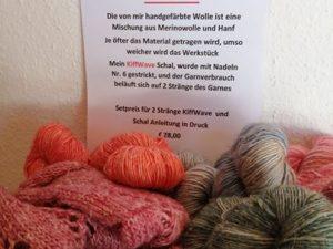KiffWave Schal Set + Anleitung